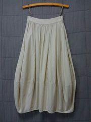 *SABUROKU* 綿麻バルーンスカート