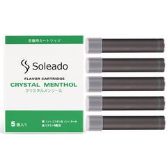 Soleado 電子タバコカートリッジ5個 エナジードリンク