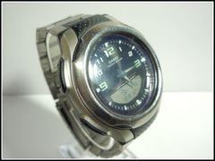 CASIO/カシオ デジアナ腕時計 タフソーラー電池 AW-S90