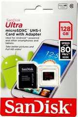 SanDisk マイクロSDXCカード(サンディスクmicroSDカード128ギガ)128GB R80MB/s