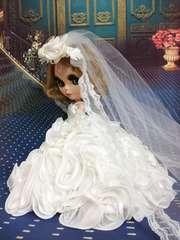 ブライス、リカちゃんのウェディングドレス