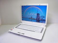 直ぐ使える美品 ホワイト NEC LaVie LL550/L 1円スタート