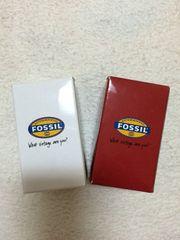 FOSSIL×ベアブリック 2個セット 非売品
