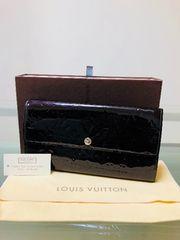 1円◆正規品◆ 美品◆ ルイヴィトン ヴェルニ アマラント 長財布