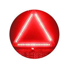 送料590三角停止 車用 LED デルタストップ 点滅  追突防止