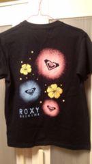 ROXY☆ロキシー沖縄限定☆Tシャツ☆ネイビー☆L☆新品同様☆送料込み!