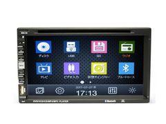 2DIN7インチDVDプレーヤー録音機能付+専用TVチューナ
