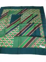 新品 J.G.DUBOIS絹100%スカーフ 定形外140