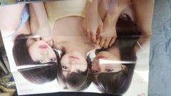 AKB48 小栗有以外×岡田奈々×向井地美音 両面特大ポスター