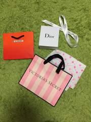 ショップ袋まとめ売り!Diorヴィクトリアシークレットルクルーゼ