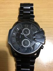 ディーゼル クロノグラフ 腕時計 DZ-4180 稼働品 美品