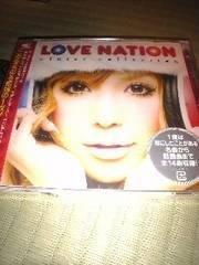未開封CD,LOVE NATION ジャケット益若つばさ