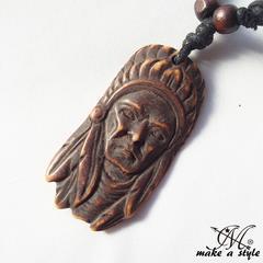 トライバル 部族 インディアン ネックレス チョーカー アクセ644