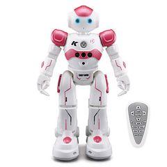 スマートラジコンロボット 子供のおもちゃ レッド