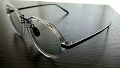 ◆白山眼鏡クリアチタニウム.新品.送料220円!サングラスモスコクロムレイバングッチシャネル