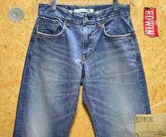 ◆廃盤◆エドウィン405XVワイドストレートW30(86cm)股下73cm