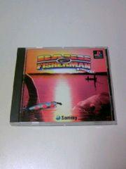 ■即決■PSバスフィッシャーマン■プレイステーションバス釣り魚釣りフィッシングゲームソフト