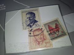 外国切手・使用済み ペーパーオフ・�A