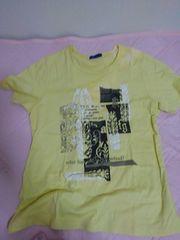 プリント英文Tシャツ