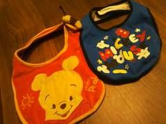 赤ちゃん本舗購入★ミッキーマウススタイ 大きめくまのプーさん