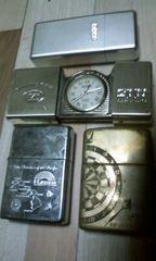 Zippoライター&時計&灰皿
