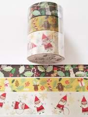 冬限定豪華マスキングテープ3巻セット《3》♪キュートクリスマス