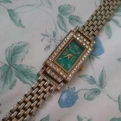 腕時計 キラキラストーン ゴールド