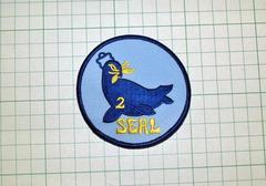 U.S.Navy SEAL TEAM 2 パッチ・新品