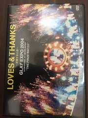 DVD  LOVES & THANKS~波動する心音~ GLAY EXPO 2004