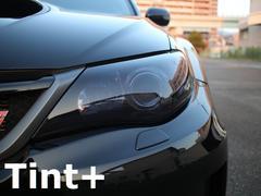 Tint+何度も貼れる インプレッサ セダン STI GVB/GVF ヘッドランプ スモークフィルム