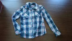 ピンキー&ダイアン「チェックシャツ/ネイビー×ピンク」