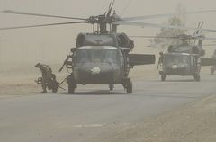アメリカ陸軍 Cco 3/159TH AVN DESERT HAWKS パッチ