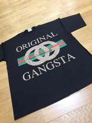 LA直輸入  ORIGINAL.GANGSTA  黒ブラック   size5XL  Z44