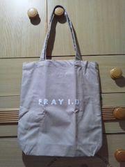 FRAY I.Dロゴプリントのシンプルトートバッグ/送料180円