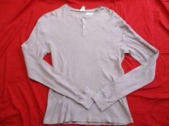 ヘッドポータープラス ユーズド加工サーマルロングTシャツ M 未使用