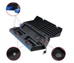PS4 多機能縦置きスタンド 冷却 コントローラー2台充電