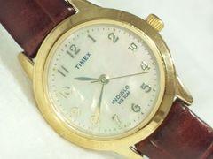 2969復活祭★TIMEXタイメックス☆INDIGLO高級シェルダイヤルレディース腕時計