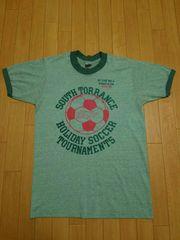 USA製 collcgitc Pacific ヴィンテージ リンガー Tシャツ S