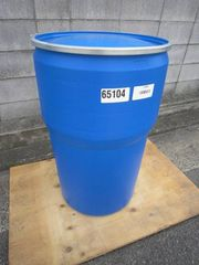 米軍実物プラスチックタンク密閉容器 タンク 208L