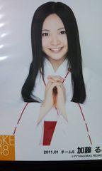 SKE48「巫女衣装写真 2011」加藤るみ 5枚セット