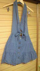 ジルスチュアートJILL STUART花柄刺繍肩かけスカート☆サロペットスカート