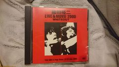 "織田裕二「LIVE&MOVIE""2000""/WHITEOUT」DVD"