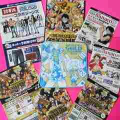 第2弾「ワンピース タオルハンカチ」(映画 カジノ服ver.)&両面フライヤー8種チョッパー