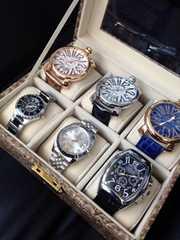 在庫処分★新品メンズ腕時計6本セット♪箱付き★インテリアにも