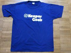 即決USA古着ロゴデザインTシャツ紺!ヴィンテージレア