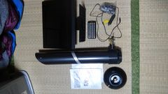 12インチDVD内蔵LEDテレビ、バズーカアンテナセット!