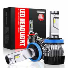 ヘッドライト LED H8/H9/H11/H16兼用 6500K 6000LM DC9V-32V