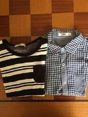 MPS半袖Tシャツ&半袖ブラウス2枚140