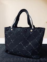 1円 ◆正規品◆ 美品 ◆ シャネル トラベルライン 黒 バッグ