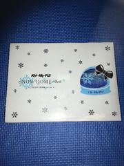 Kis-My-Ft2 DVD SNOW DOMEの約束 難あり キスマイ